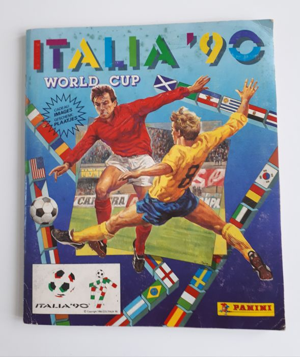 Panini - World Cup 1990 - Italia 90 - Album compleet.