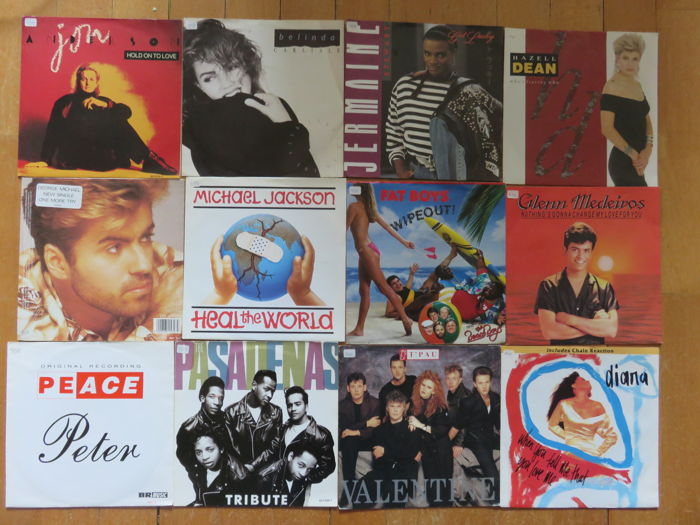 80's and 90's : 60x 45 RPM Singles