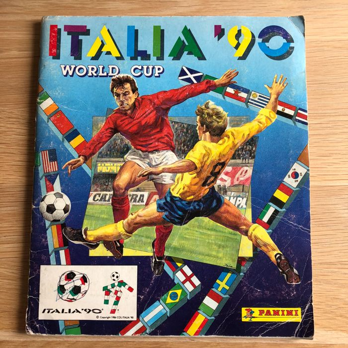 Panini - World Cup Italia '90 - Complete album