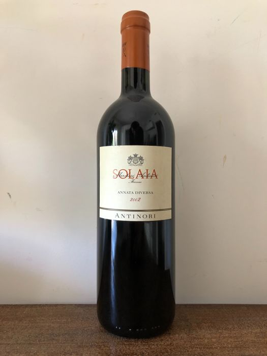 2002 Solaia ''Annata Diversa'' Antinori - 1 bottle(75cl)