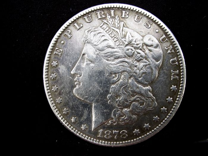 USA - 1 Dollar 1878-S Morgan - Silber