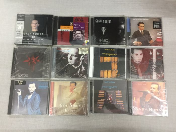 Gary Numan ‎Album x 12 CD
