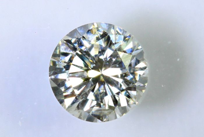 IGI Antwerp Sealed Diamond - 0.41 ct - G, SI2