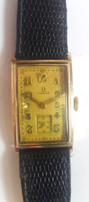 Omega - Gold Plated Classic Watch - 男士 - 1930s