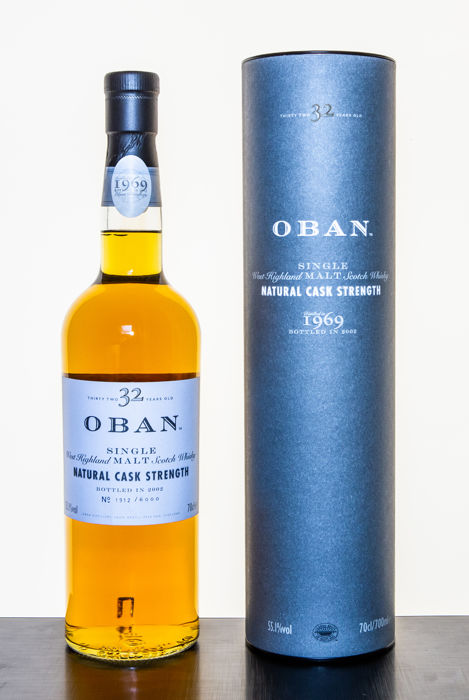 Oban 1969 32 years old with Tube - OB