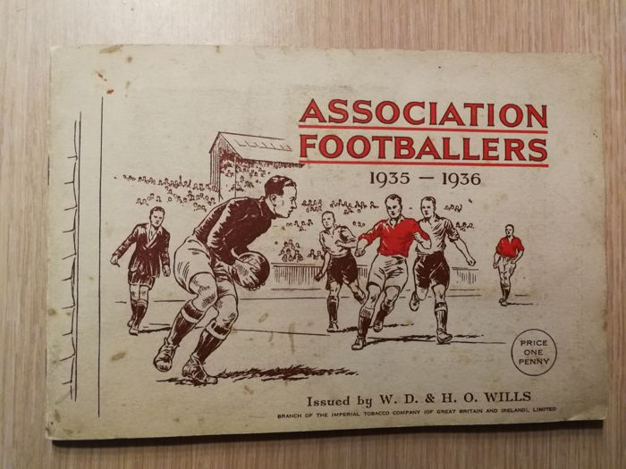 Variant Panini - W.D. & H.O. Wills - Association Footballers 1935/36 - Complete album