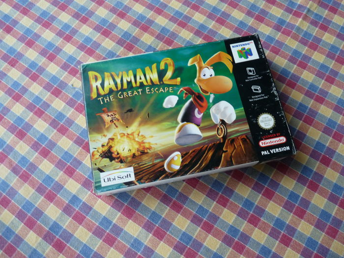 Nintendo 64 Rayman 2 The Great Escape Boxed Catawiki