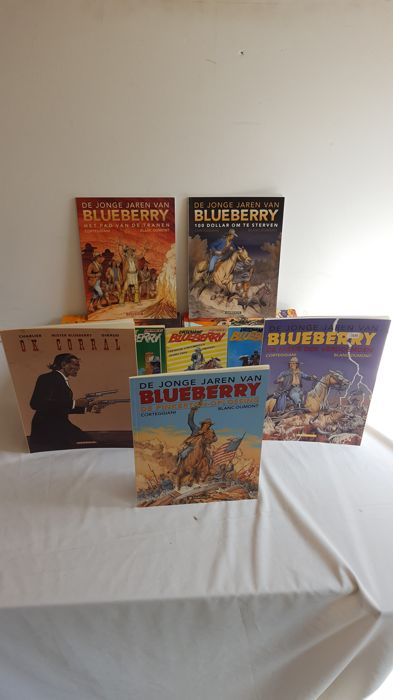Blueberry - 1 t/m 34 + Marshal 3x + Mr 4x + 3x pockets+4x JJ - Softcover - Mixed Editions - (1971/2009)
