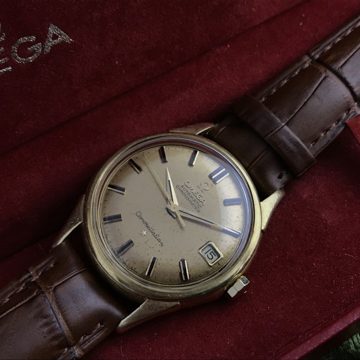 Omega - Constellation - 14393-4SC - Hombre - 1960