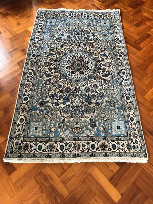 Nain with Silk - Approx. 210 x 120 cm. - Iran