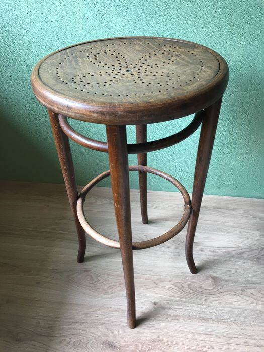 Thonet Bar Stool  Austria 1st Half 20th Century Thonet72