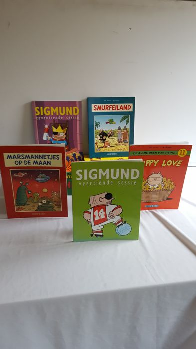 Heinz -  en Sigmund - Softcover - Mixed Editions - (1993/2008)