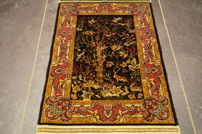Hereke Silk     ca.41x26.5cm    Turkey