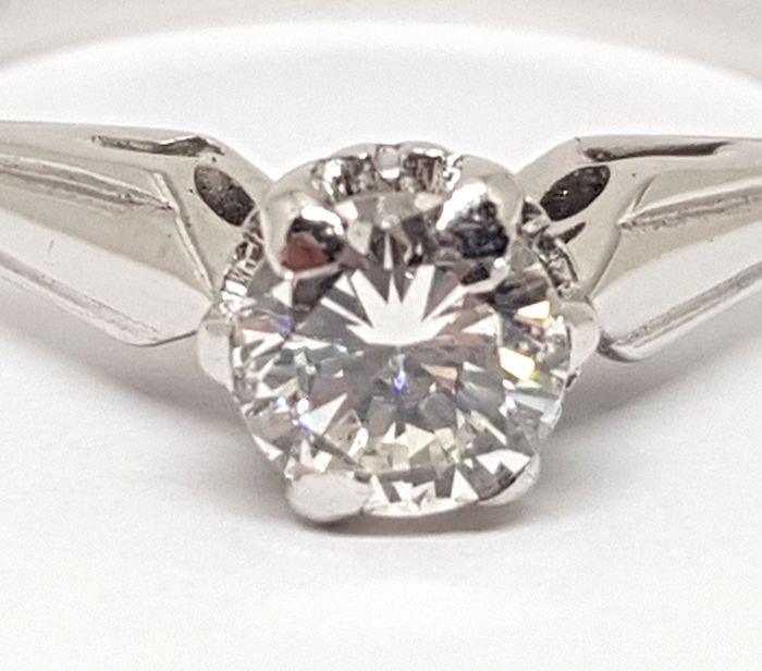 Diamond Engagement Ring 0,40ct.