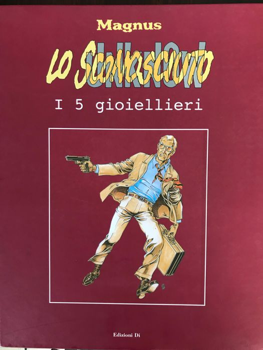 "Magnus - 4x vol. ""Lo Sconosciuto"" cpl - Hardcover - First Edition - (2007/2009)"