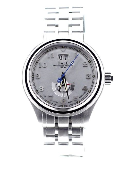 BALL - Trainmaster Cleveland Express Silver Dial Steel - \tPM1058D-SJ-SL - Unisex - 2018