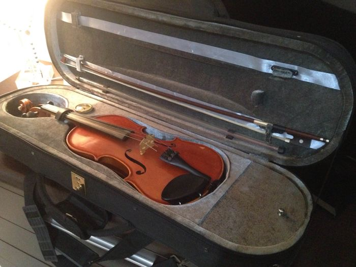 Lot with a 4/4 Gewa violin