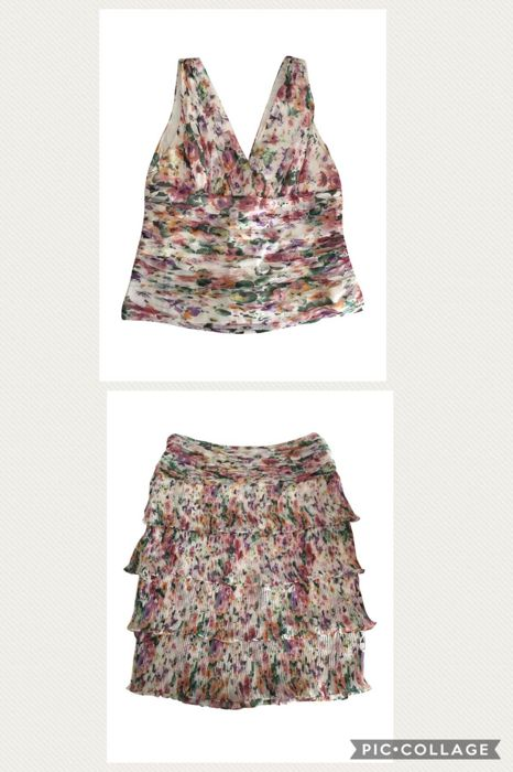 Georges Rech - set of top and skirt