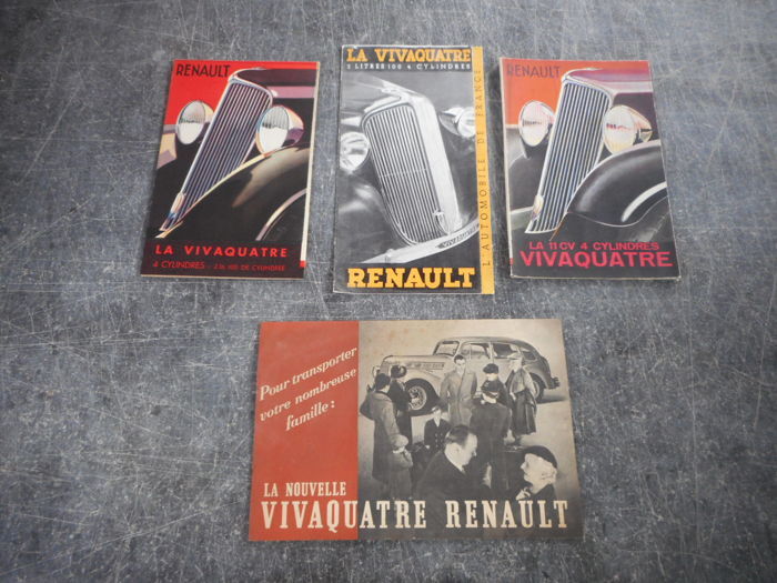 Brochures / Catalogi - Renault - 1933-1933 (4 items)