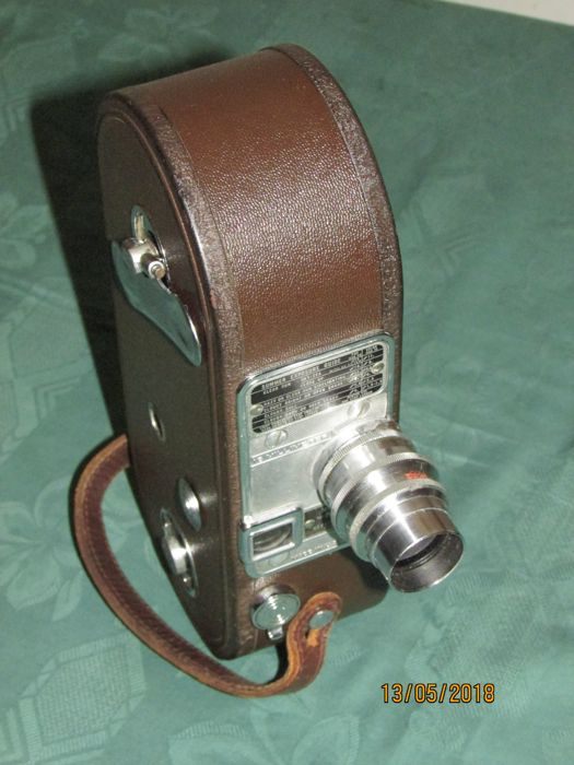 Film camera with 16mm film by the camera company Keystone