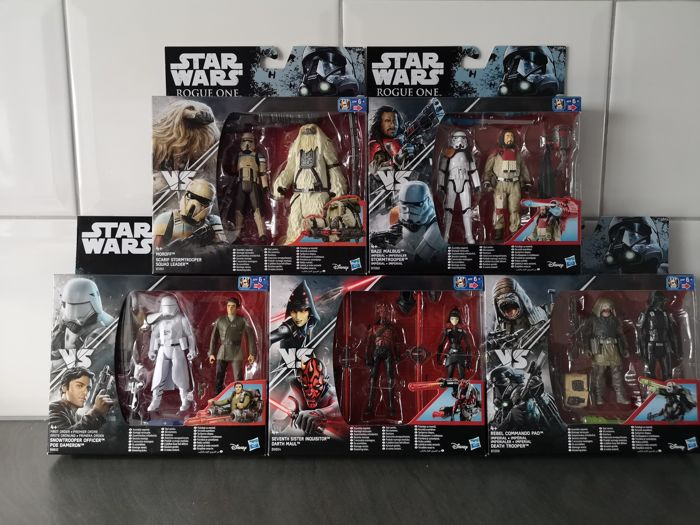 Star Wars Hasbro Disney Rogue One 2-Pack Action Figures.