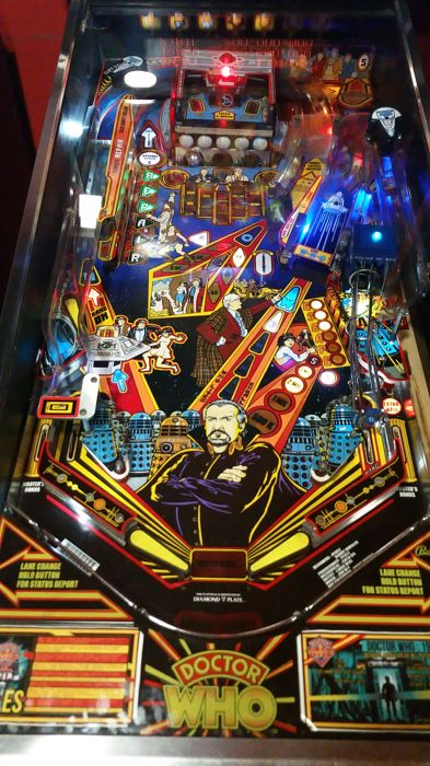Pinball Doctor Who