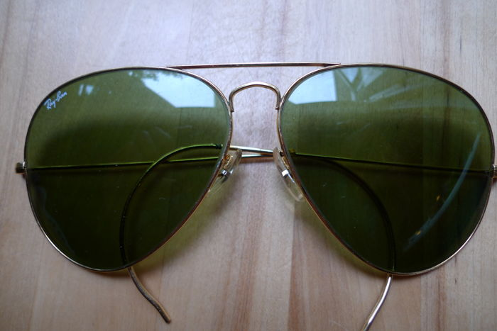 Ray-Ban - Aviator 1980 's Sunglasses - Vintage