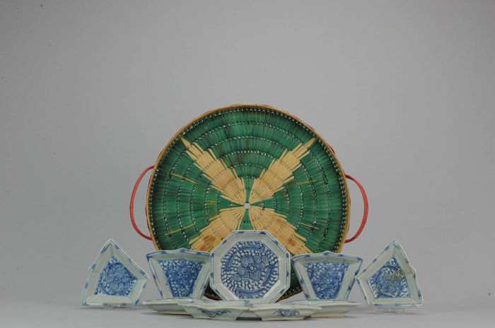 Porcelain Sweet Meat Altar Dish - China - 19C