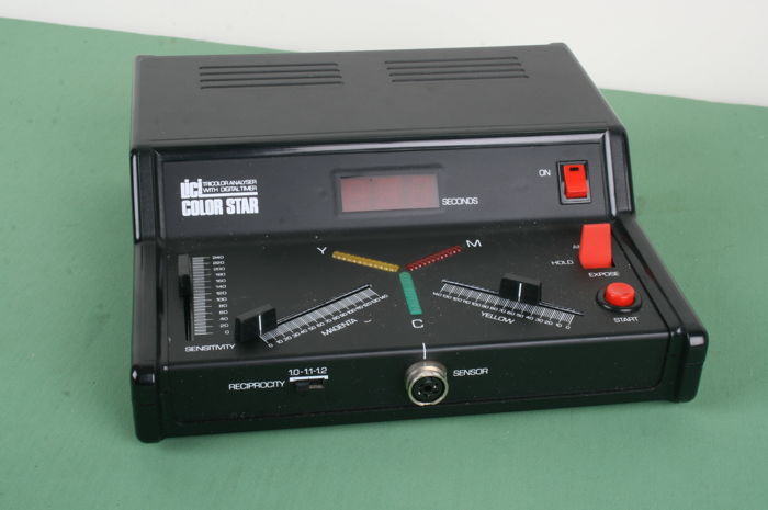 Lici Color Star Analyser for colour measuring in the darkroom in box (complete)