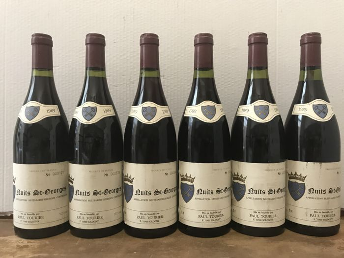 1989 Nuits-Saint-Georges, Paul Tourier / Total 6 Bottles