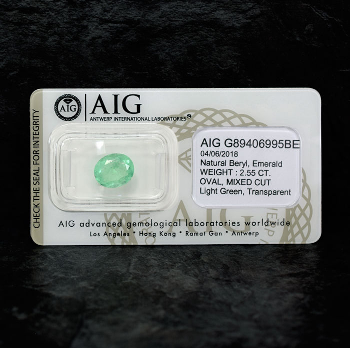 Colombian Emerald - 2.55 ct