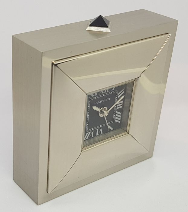 Table / Travel Clock - Cartier 2745 - Year 2005