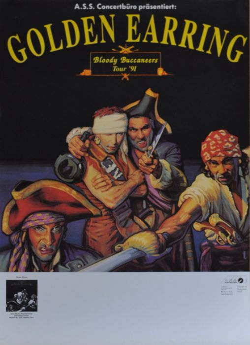 Golden Earring concert posters (11)