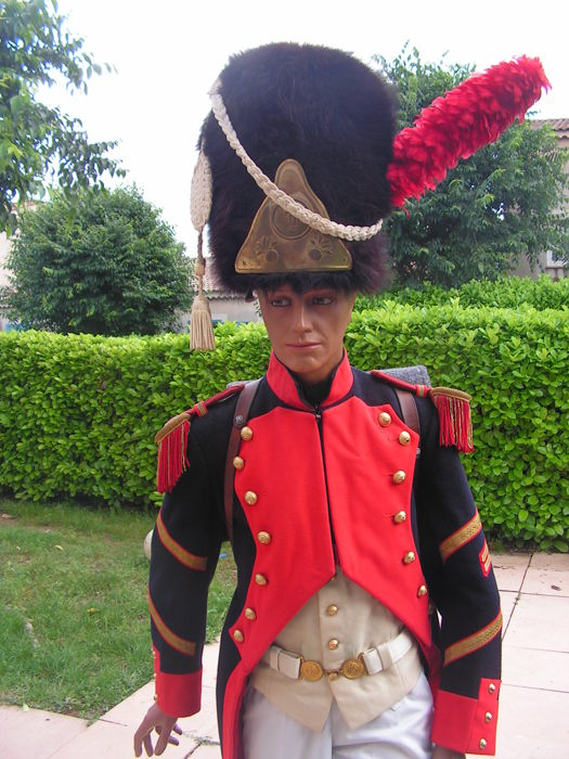 great uniform from old grenadiers of Geneva
