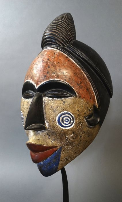 Spirit dance mask used by the Igbo tribe