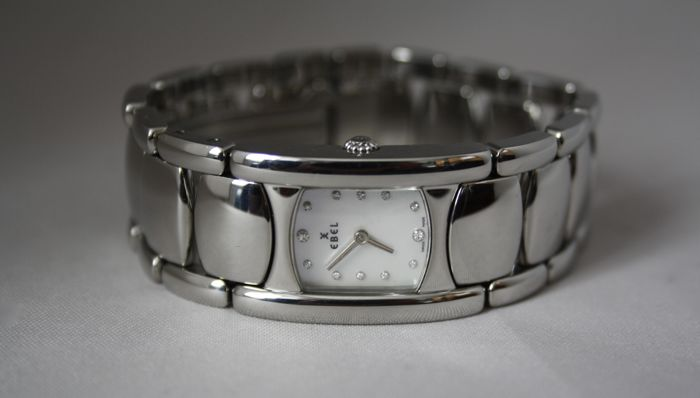 Ebel - Beluga Diamond Dial  - E 9057A21 - Women - 2000-2010
