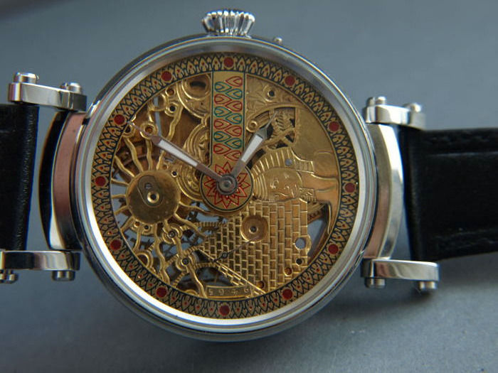 Zenith - skeleton marriage watch - 1969456 - Heren - 1901-1949