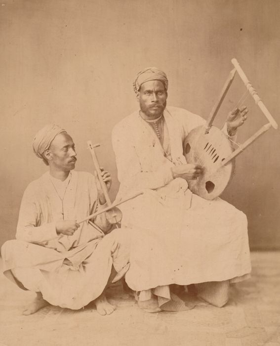 Anonyme (XIX) - Musiciens maures