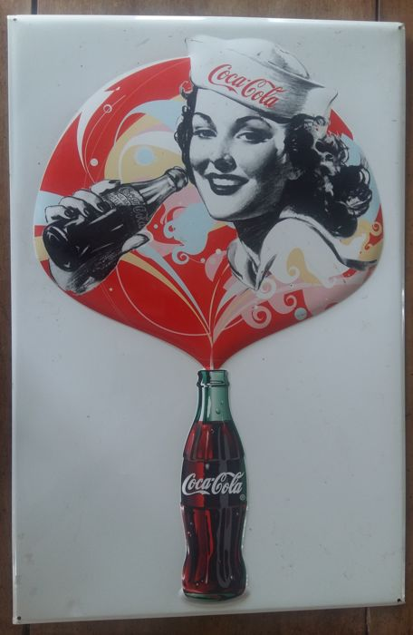 Sheet metal - Coca-Cola - 70s