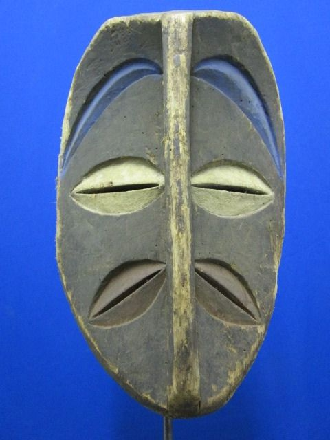 KWELE or KWELLE Mask - Gabon