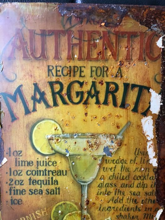 Very rare advertising Authentic Margarita about 1970