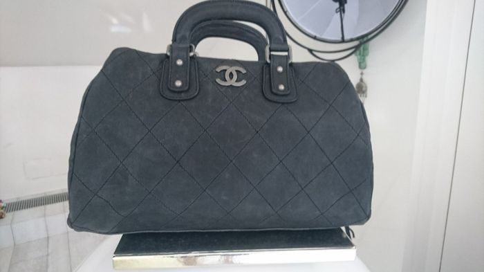 5aae68004bde Chanel - Grand Shopping in togo satinato Torebka - Catawiki