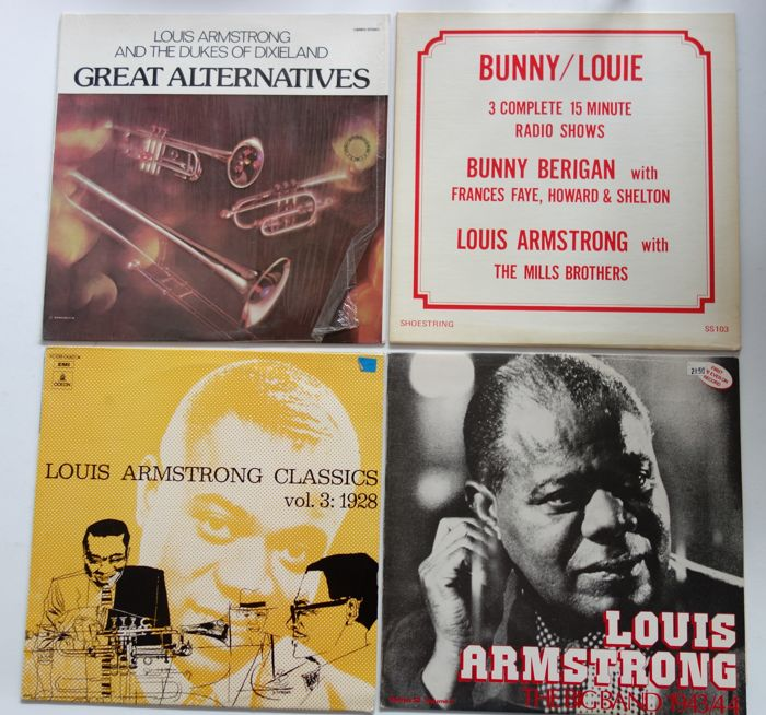 louis armstrong discography