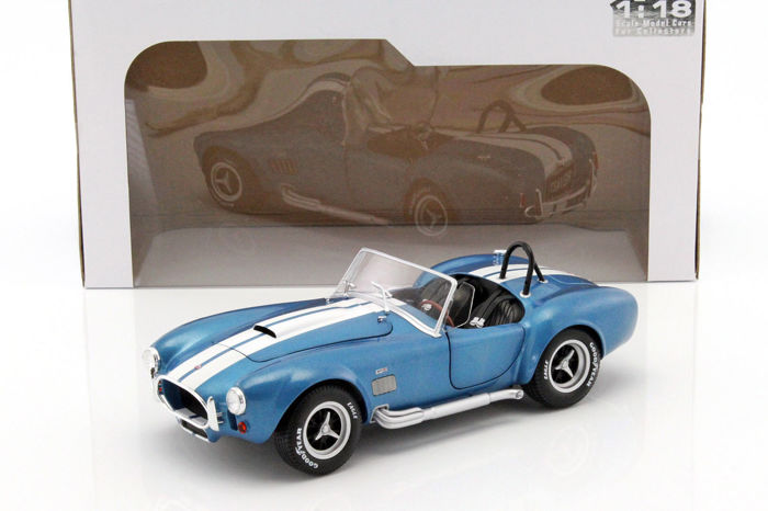 Solido - 1:18 - AC Cobra 427 MKII 1965 - Metallisches Blau