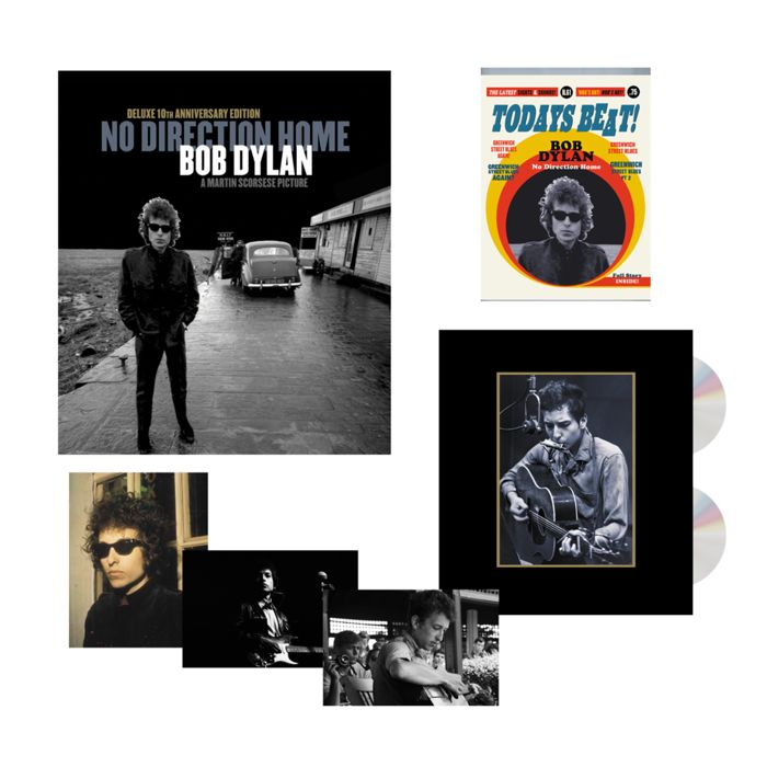 Bob Dylan - No Direction Home - Box set: 2 Blueray & 2 DVD discs + Extra's