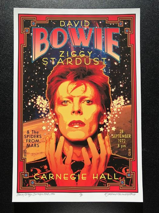 David Edward Byrd  - David Bowie / Ziggy Stardust / Carnegie Hall