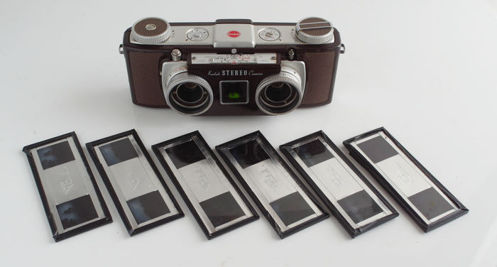 Kodak Stereo Camera With 6 Mounted Stereo Photos User Catawiki
