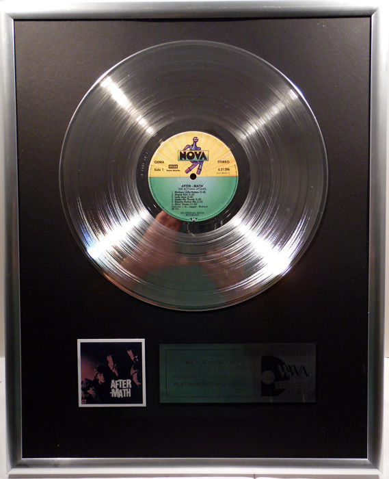 "David Bowie - Ziggy Stardust - the motion picture - 12"" RCA Record platinum plated record by WWA Awards"
