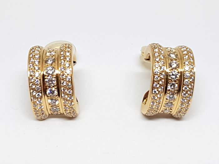 Chopard - 18 quilates - Pendientes - 2.32 ct Diamante