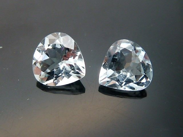 Two aquamarines - 2.79 ct